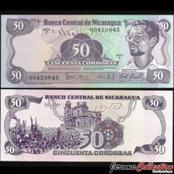 NICARAGUA - Billet de 50 Córdobas - 16.08.1979