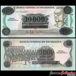 NICARAGUA - Billet de 10000 Córdobas - 1985 / 1989