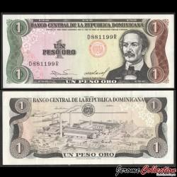 REPUBLIQUE DOMINICAINE - Billet de 1 PESO ORO - 1984 P126a2