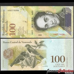 VENEZUELA - Billet de 100000 Bolivares - 13.12.2017 P100b2
