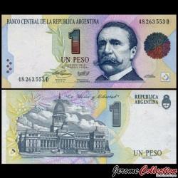 ARGENTINE - Billet de 1 Peso - 1994 P339b