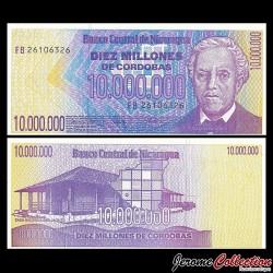 NICARAGUA - Billet de 10000000 Córdobas - 1990