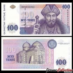 KAZAKHSTAN - Billet de 100 Tenge - 1993 P13a