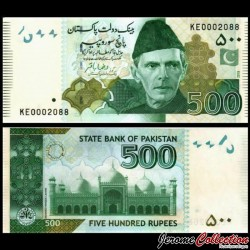 PAKISTAN - Billet de 500 Roupies - 2019 P49Ak2