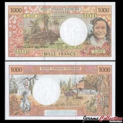 Territoires Français du Pacifique - Billet de 1000 Francs - 2012 P2l