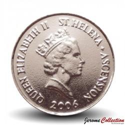 SAINTE-HÉLÈNE ET ASCENSION - PIECE de 10 Pence - Dauphins - 2006