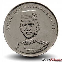 BRUNEI - PIECE de 20 Sen - Hassanal Bolkiah I - 2011 Km#37