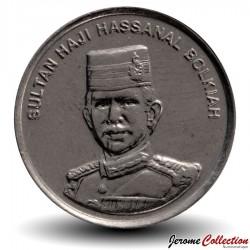 BRUNEI - PIECE de 10 Sen - Hassanal Bolkiah I - 2008 Km#36