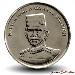 BRUNEI - PIECE de 5 Sen - Hassanal Bolkiah I - 2010 Km#35