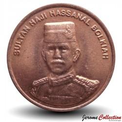 BRUNEI - PIECE de 1 Sen - Hassanal Bolkiah I - 2005 Km#34
