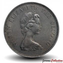 JERSEY - PIECE de 5 New Pence - 1968