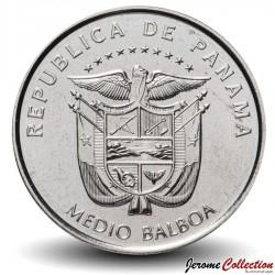 PANAMA - PIECE de ½ Balboa (500 ans de fondation de la ville de Panama) - 2019