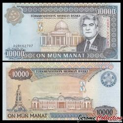 TURKMENISTAN - Billet de 10000 Manat - 2000 P14a