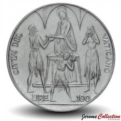 VATICAN - PIECE de 100 Lires - Alimentation des Pauvres - FAO - 1968 Km#106