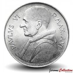 VATICAN - PIECE de 100 Lires - Alimentation des Pauvres - FAO - 1968