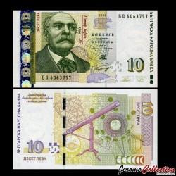 BULGARIE - Billet de 10 Leva - 2008