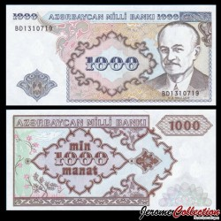 AZERBAIDJAN - Billet de 1000 Manat - Mohammed Émin Résulzadé - 1993 P20b