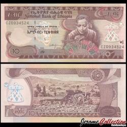 ETHIOPIE - Billet de 10 Birr - 2006 P48d