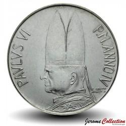 VATICAN - PIECE de 100 Lires - Berger avec le Mouton - 1966