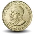 KENYA - PIECE de 5 Cents - Mzee Jomo Kenyatta - 1975 Km#10