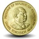 KENYA - PIECE de 5 Cents - Président Arap Moi - 1991