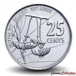 SEYCHELLES - PIECE de 25 Cents - Arbre Bois Méduse - 2016 Km#New