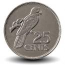SEYCHELLES - PIECE de 25 Cents - Perroquet - 2012