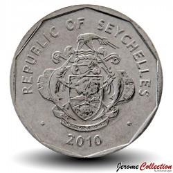 SEYCHELLES - PIECE de 5 Rupees - Palmier - 2010