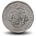 SEYCHELLES - PIECE de 1 Rupee - Triton conque - 2010 Km#50