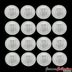 SOMALIE - SET / LOT de 12 PIECES de 10 Shillings - Signes du Zodiaque Chinois - 2000