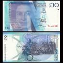 GIBRALTAR - Billet de 10 Livres Sterling - 2010