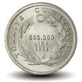 TURQUIE - PIECE de 500000 Lira - Mouton - 2002 Km#1161