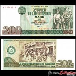 ALLEMAGNE DE L'EST / DDR / RDA - Billet de 200 Mark - Famille - 1985 P32a