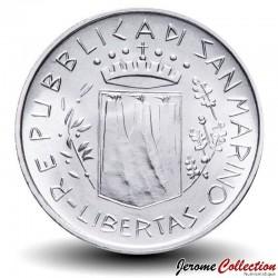 SAINT-MARIN - PIECE de 500 Lires (Argent) - 1981