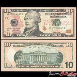 ETATS UNIS / USA - Billet de 10 DOLLARS - 2017 - F(6) Atlanta P544aF