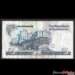 ECOSSE - Royal Bank of Scotland - Billet de 5 Pounds - Lord Ilay - 2010