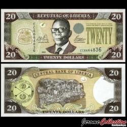 LIBERIA - Billet de 20 DOLLARS - 2003 P28a