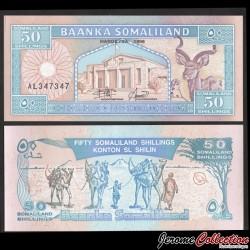 SOMALILAND - Billet de 50 Shillings - 1996 P7a