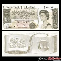 SAINT HELENE - Billet de 1 Pound - 1981 P9a