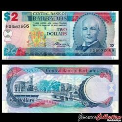 BARBADE - Billet de 2 Dollars - John Redman Bovell - 02.05.2012 P66c
