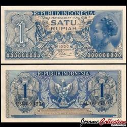 INDONESIE - Billet de 1 Rupiah - 1956 P74a