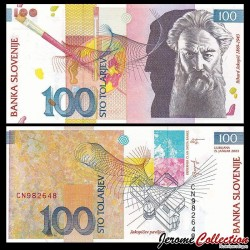 SLOVENIE - Billet de 100 Torlarjev - Rihard Jakopič - 2003 P31a