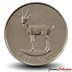 EMIRATS ARABES UNIS - Pièce de 25 Fils - Gazelle - 2011 Km#4