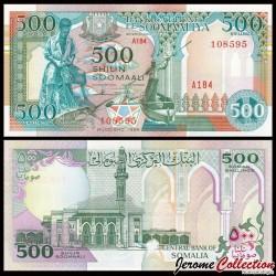 SOMALIE - Billet de 500 Shillings - Pécheurs - 1996 P36c