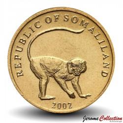 SOMALILAND - PIECE de 10 Shillings - Singe velvet - 2002 Km#3