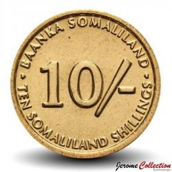 SOMALILAND - PIECE de 10 Shillings - Singe velvet - 2002
