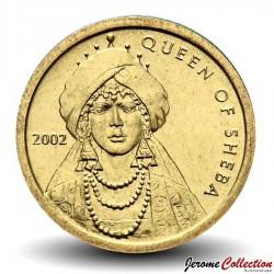 SOMALIE - PIECE de 100 shillings - Reine de Saba - 2002 Km#112