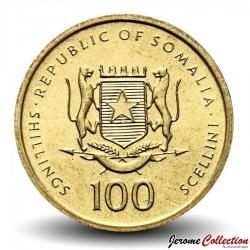 SOMALIE - PIECE de 100 shillings - Reine de Saba - 2002