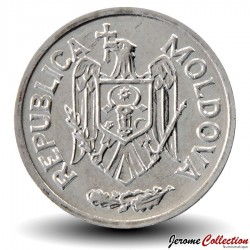 MOLDAVIE - PIECE de 5 Bani - 2005