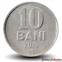 MOLDAVIE - PIECE de 10 Bani - 2015 Km#7